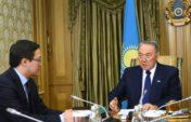 Нұрсұлтан Назарбаев Ұлттық банктің төрағасы Данияр Ақышевті қабылдады
