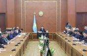 Состоялось заседание Карагандинского областного актива по обсуждению программной статьи Главы государства «Болашаққа бағдар: рухани жаңғыру»