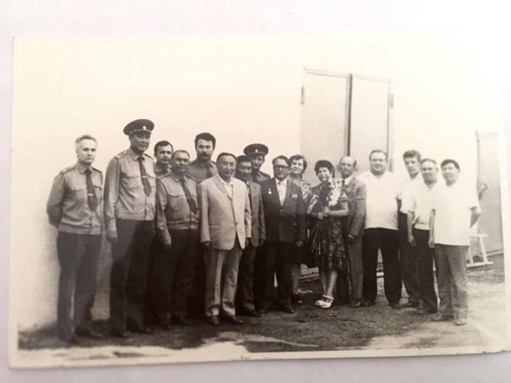 Со дня формирования Учреждения ЛА-155/1 КУИС МВД РК  Департамента УИС по городу Алматы исполнилось 95 лет
