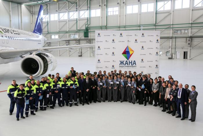 «Эйр Астана» построила авиационно-технический центр в Астане