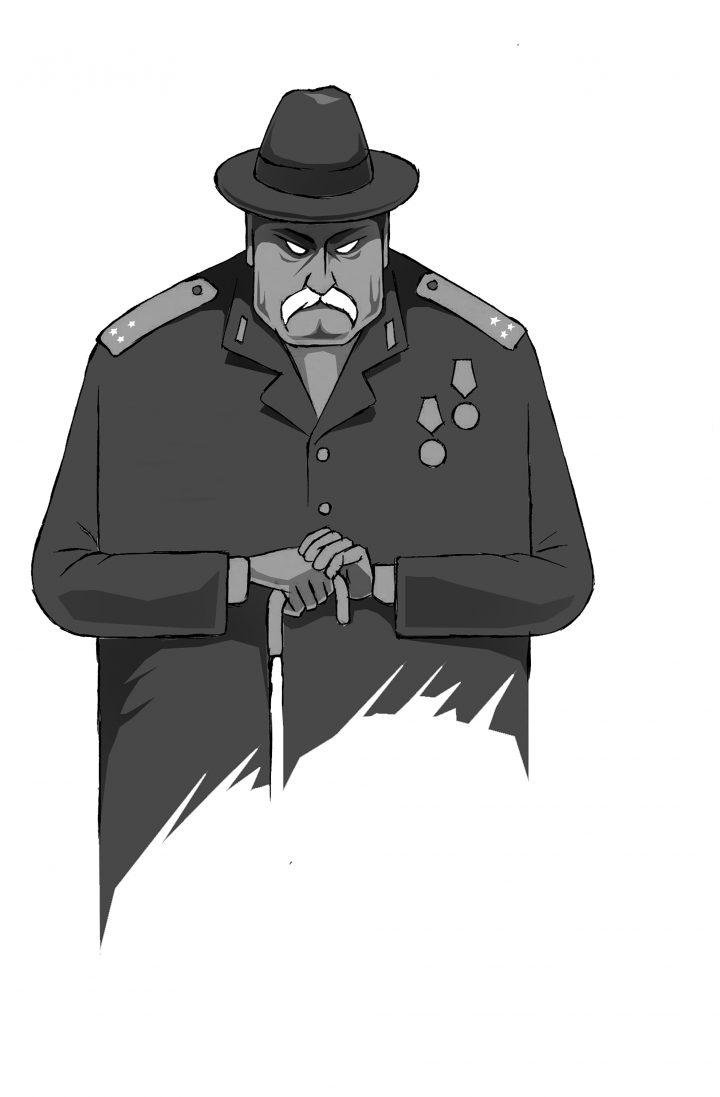 Кәрі солдат