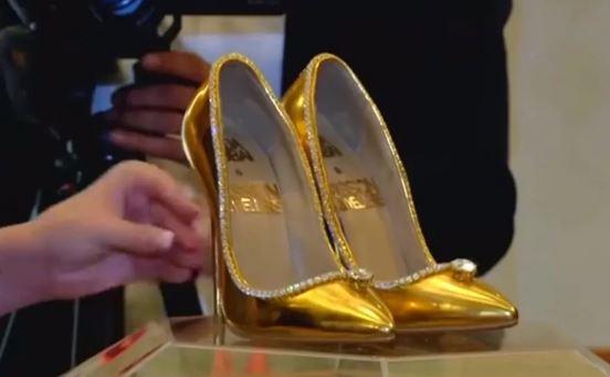 Әлемдегі ең қымбат туфли Дубайда сатылды (видео)