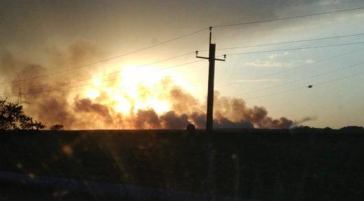 Алматы облысындағы өрт болды (видео)