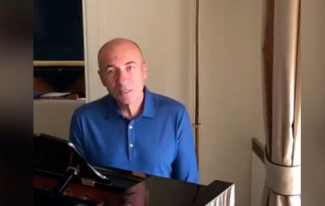 Игорь Крутой Димаш жолдаған эстафетаны қабыл алды