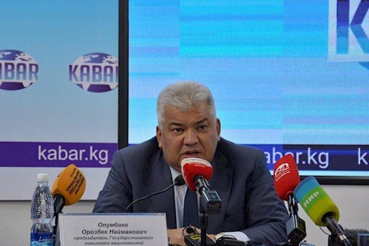 Қырғызстан МҰҚК басшысы: Атамбаев елде төңкеріс жасамақ болды