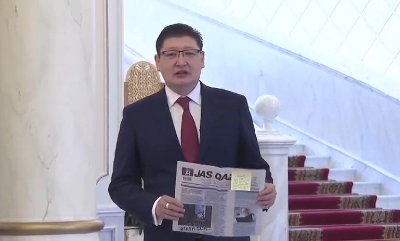 #Абай175: пресс-секретарь Президента РК Берик Уали передал эстафету по чтению стихов