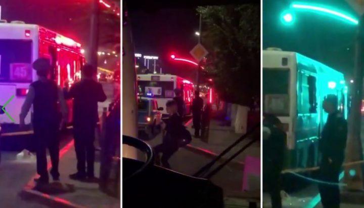 Автобус салонына оқ атылған екі жүздей жолаушы болған