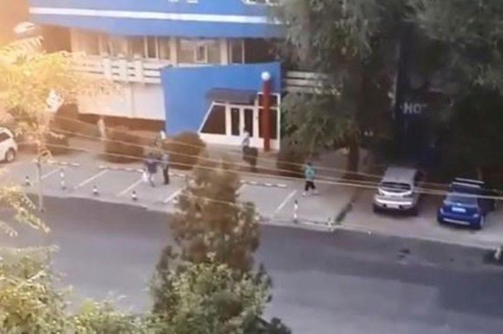 Алматыда атыс болды (видео)