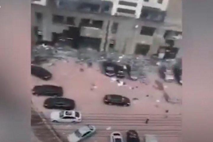 Қытайда газ құбыры жарылып 3 адам көз жұмды (видео)
