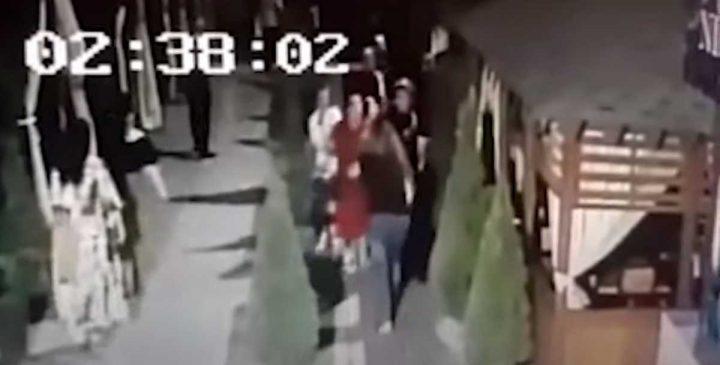 Тараздағы кафеде әйелдер жаппай төбелесті (Видео)