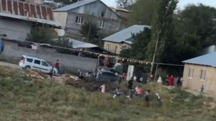 Алматы облысында тойдағы қырғын төбелес видеоға түсіп қалды (Видео)