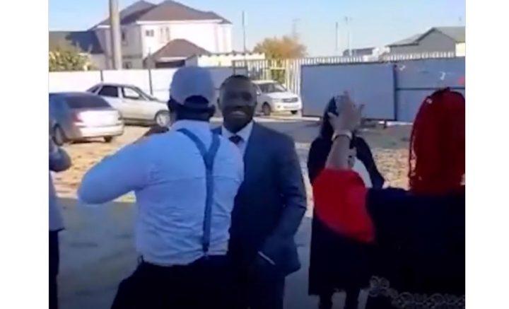 Қазақ қызы нигериялықпен неке қиды (Видео)
